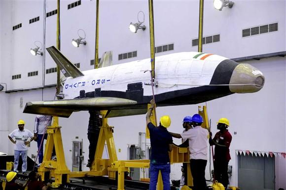 Indian Mini-Shuttle RLVTD Head
