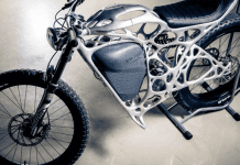 Light Rider World's First 3D Printed Electric Motorcycle