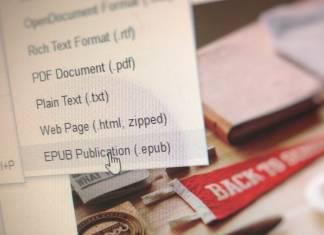 Make eBooks with Google Docs