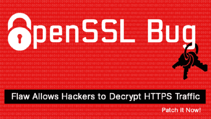 OpenSSL Fixed Six Severe Flaws