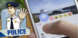 Police Recommend Facebook Users To Avoid Using Its Reactions Feature