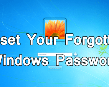 Reset Your Forgotten Windows Password