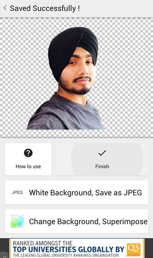 Remove Background from Any Image in Android