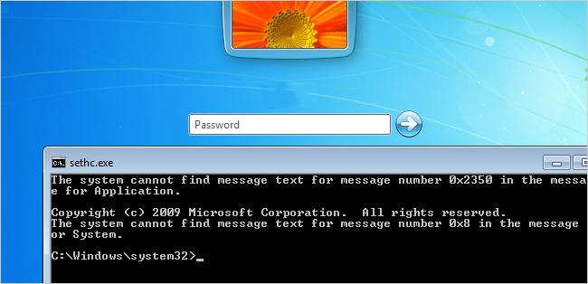 Reset Your Forgotten Windows Password