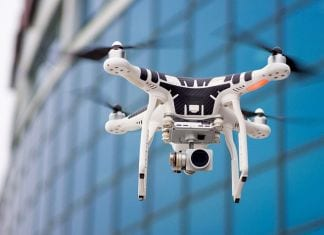 This Drone Steals Data Just By floating Above You