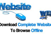 How To Download Complete Websites To Browse Offline