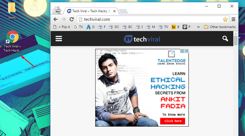 Add Website Links to The Windows 10 Start Menu