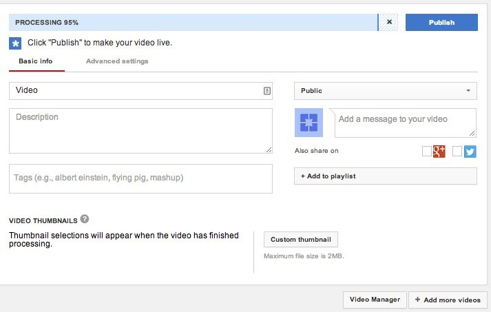Transcribe Video Files To Text With Youtube