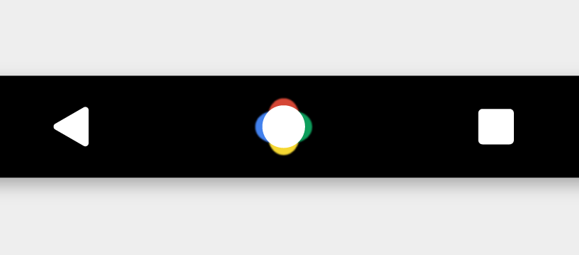 Android N navigation buttons