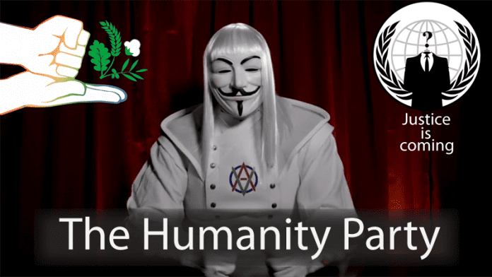 Anonymous Creates A New Political Party The Humanity Party