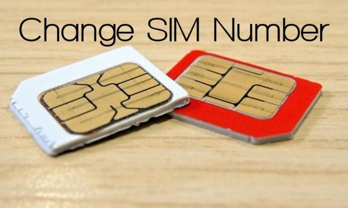cambiare il numero alla SIM