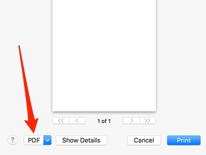Create PDF in Mac