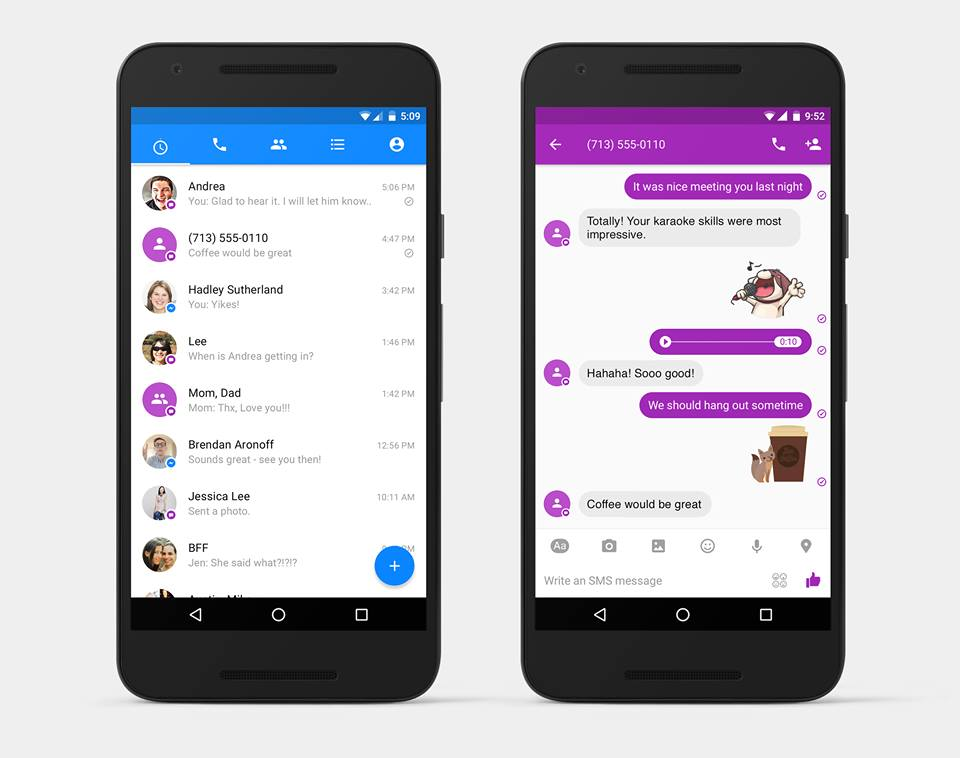 "Facebook Launches SMS Integration in Messenger To ""Kill"" SMS"