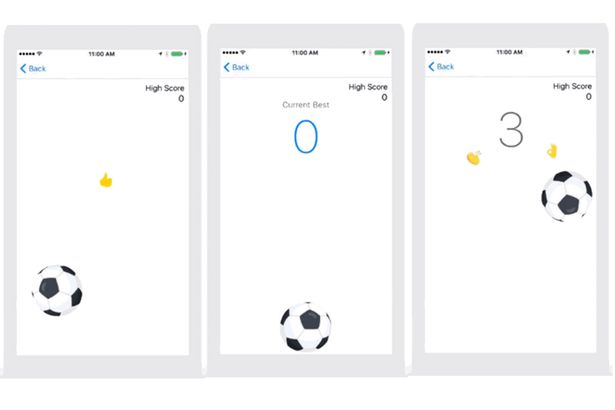 Facebook Messenger's hidden Football Game is highly Addictive