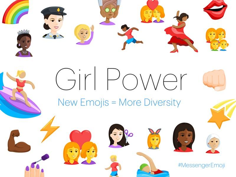 Facebook Messenger adds 1500 new different emojis