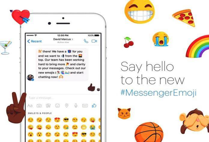 Facebook Messenger adds 1500 new different emojis