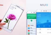 Finally, Xiaomi Announced MIUI 8 Globally Along With Mi Max
