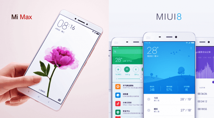 Finally, Xiaomi Announced MIUI 8 Globally Along With Mi Max