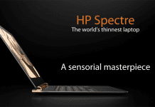HP Unveils World's Thinnest Laptop
