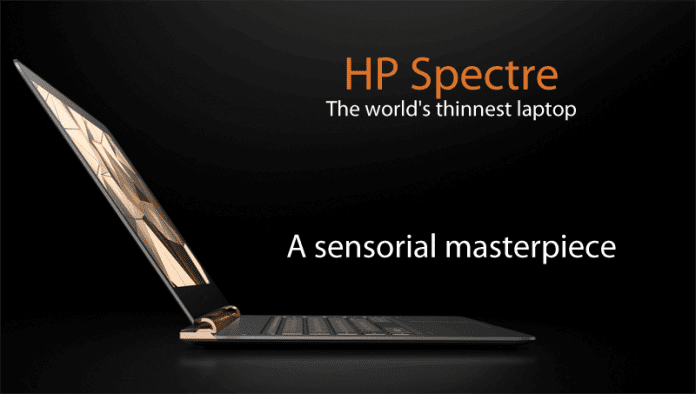 HP Unveils World's Thinnest Laptop