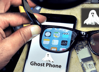 Inventor Builds 'Ghost Phone' A Phone That Only You Could See And Work On