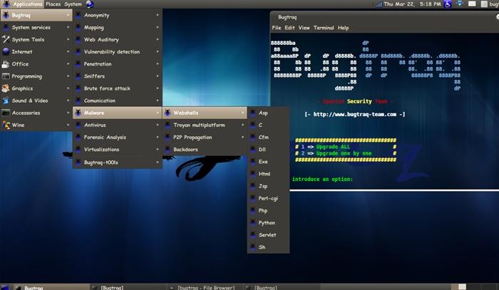 Linux Pentesting Distro 9