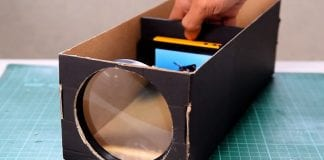 Make Your DIY Smartphone Projector With A Shoebox