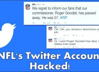 "NFL's Twitter Account Hacked! The Reason is ""For the Lulz"""
