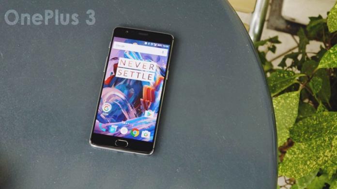 OnePlus 3 the