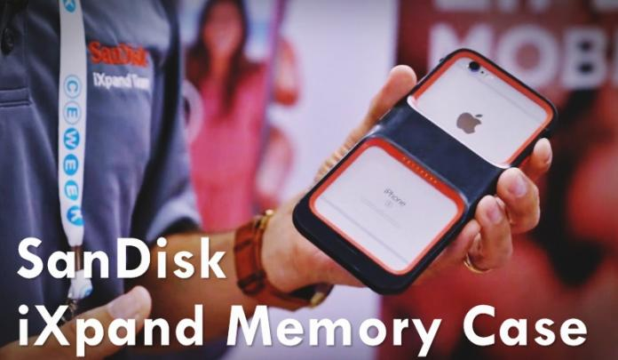 SanDisk's iXpand Memory Case Adds 128GB Storage to Your iPhone
