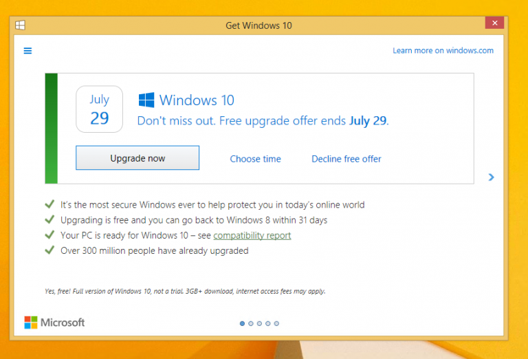 Say No To Windows 10 Update