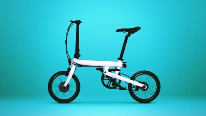 Xiaomi's Newest Gadget is a Foldable Electric Bicycle