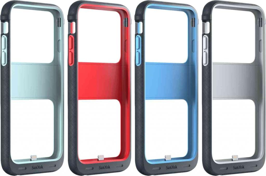 "SanDisk's ""iXpand Memory Case"" Adds 128GB Storage to Your iPhone"