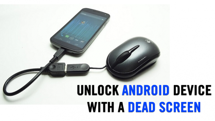 How To Unlock Android Device With Cracked Or Broken Screen ...