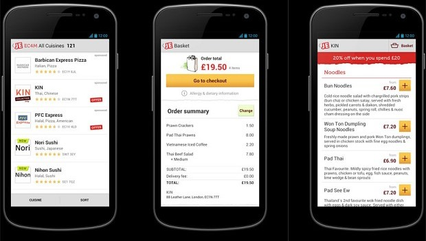 Android Apps To Have Home Food Delivery In India