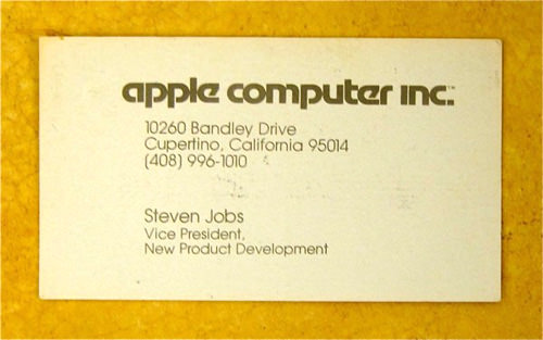 Steve Jobs: Apple