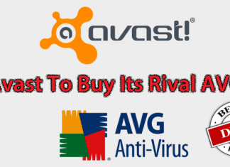 Avast Antivirus Company To Buy Its Rival AVG For $1.3 Billion