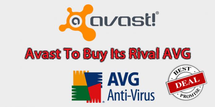 Avast Antivirus Company To Buy Its Rival AVG For $1.3 Billion
