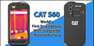 Cat S60 World's First Smartphone With Integrated Thermal Camera