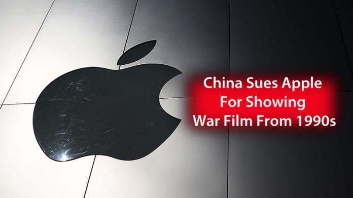 China Sues Apple For Showing War Film From 1990s