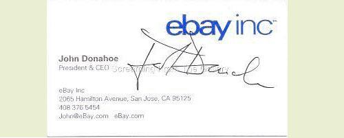 John Donahoe: Ebay