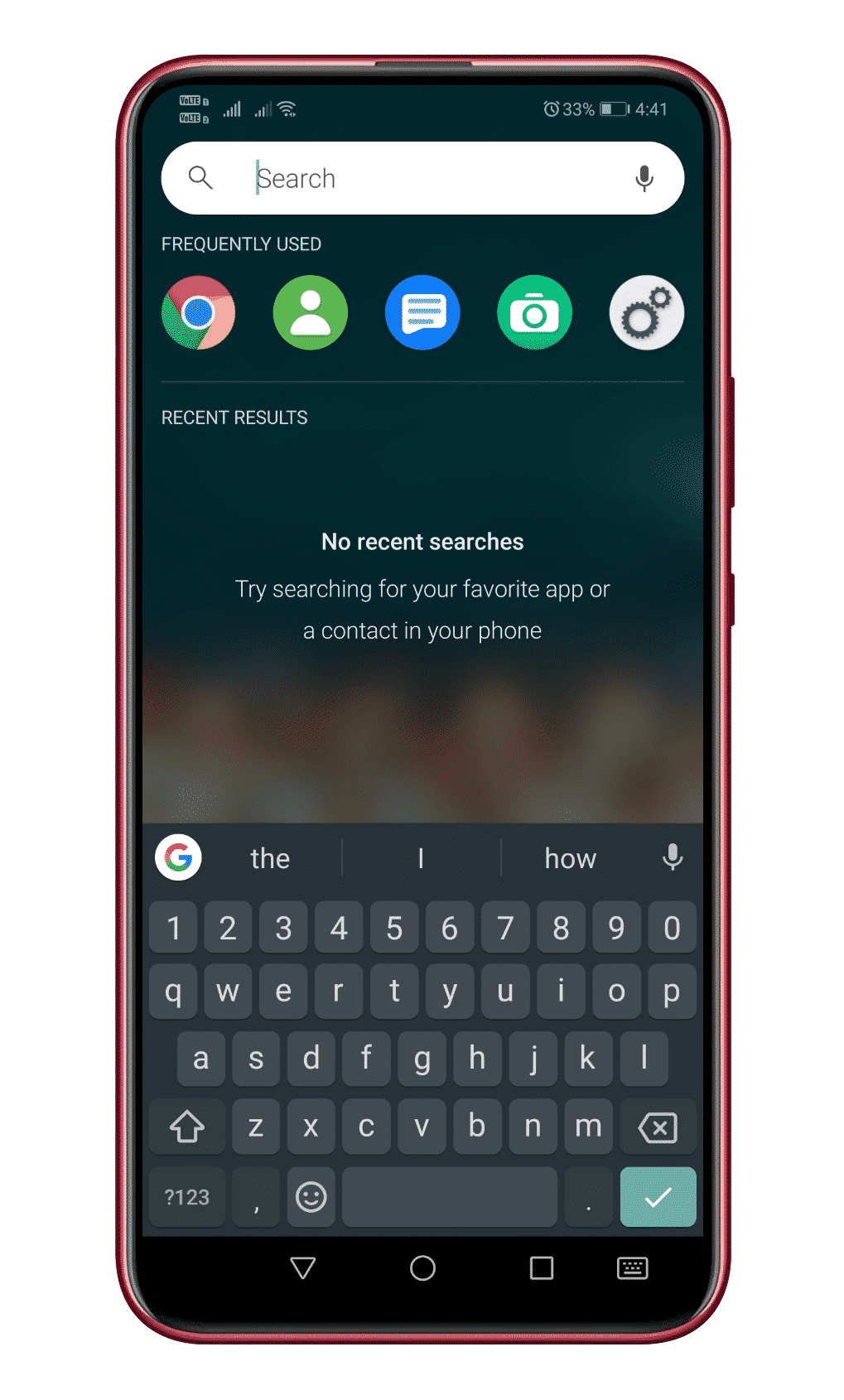 Get iOS-like Homescreen Search On Android