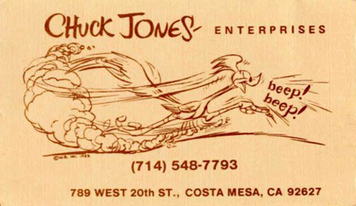Chuck Jones: Warner Bros