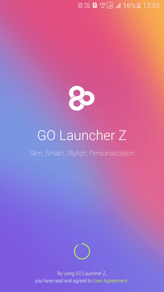 Using Go Launcher