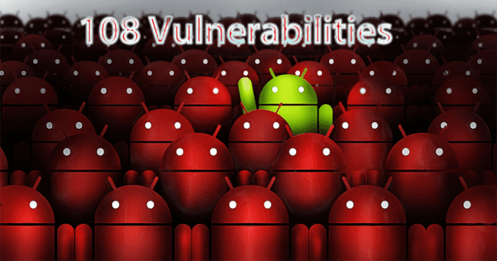 Google Fixed 108 Security Vulnerabilities In Android