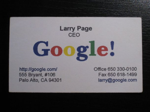 Larry Page: Google