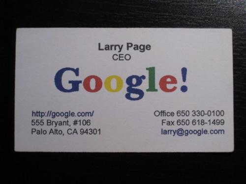 Larry Page: Google