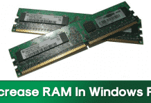 How To Increase RAM In Windows PC Using HDD Space