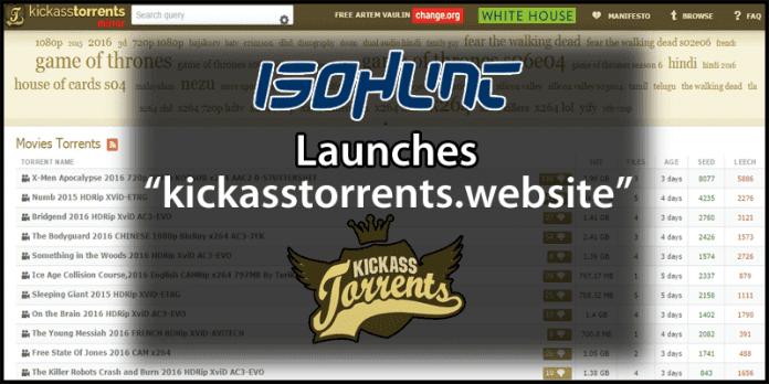 IsoHunt Launches An Unofficial KickassTorrent Mirror