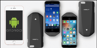 MESUIT The Cover That Turns Your iPhone Into Android